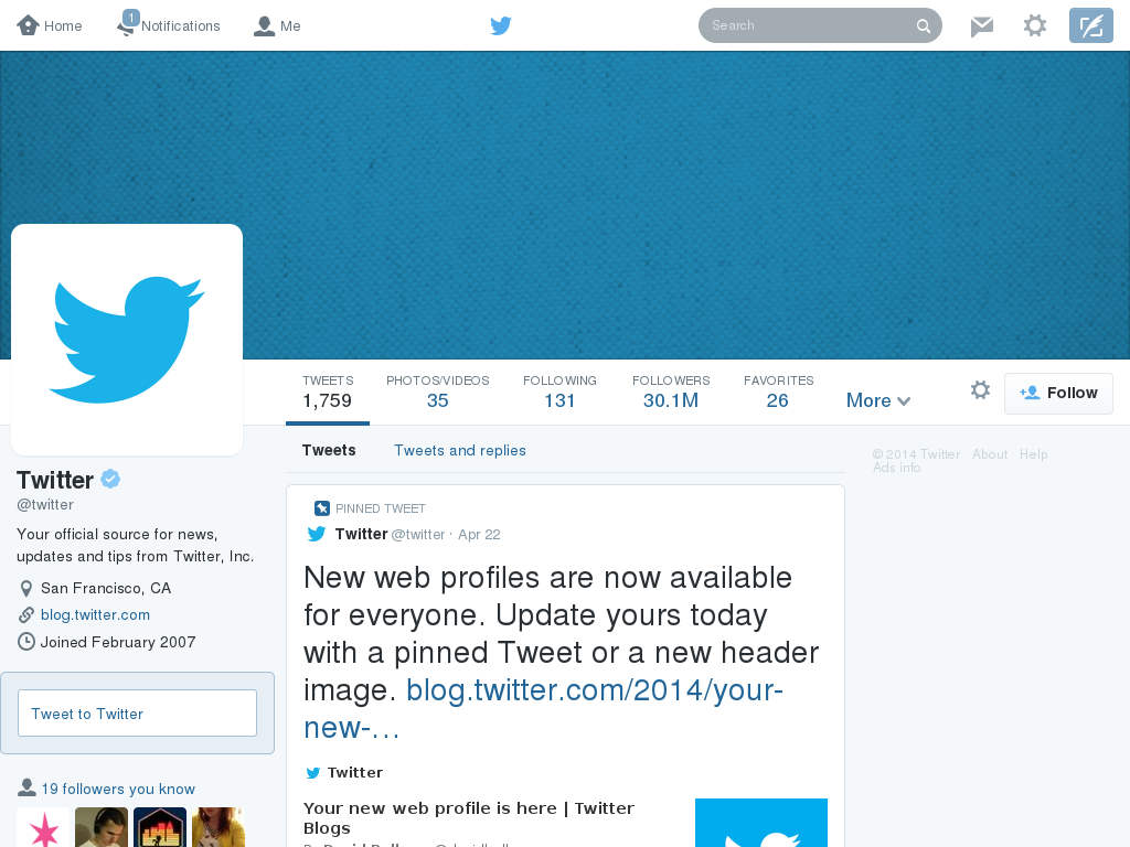 Twitter profile page template 698344 trouver des clients for Blank twitter profile template